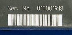 Gravure laser de code barre